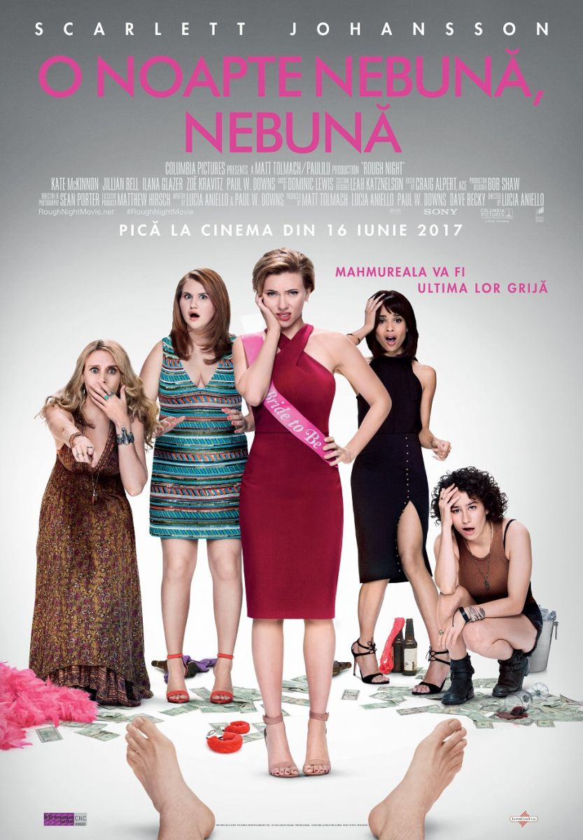Rough Night / O noapte nebuna, nebuna