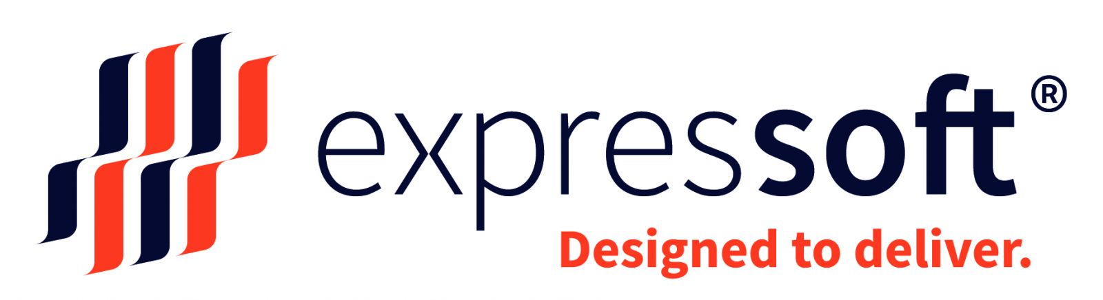 logo expressoft - Designed to deliver.