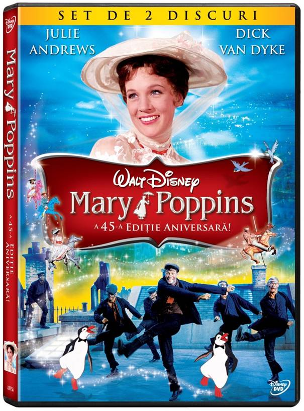 """Mary Poppins"", pe DVD"