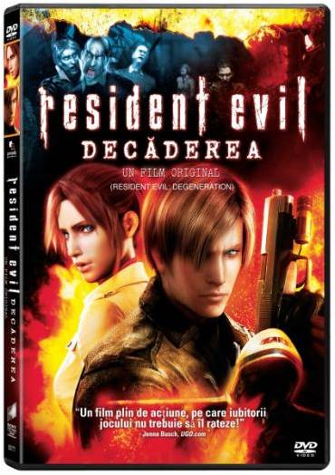 """Resident Evil: Decaderea"", pe DVD si Blu-ray"
