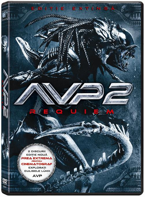 """Aliens vs. Predator: Requiem"", pe DVD"