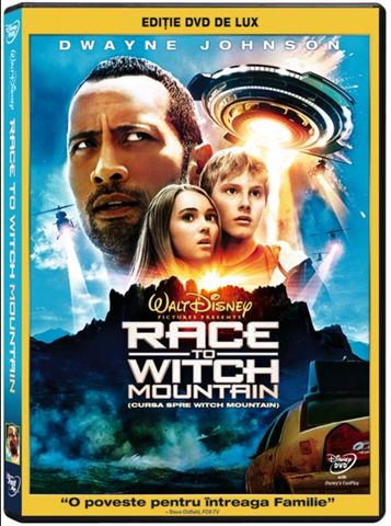 Cursa catre Witch Mountain DVD