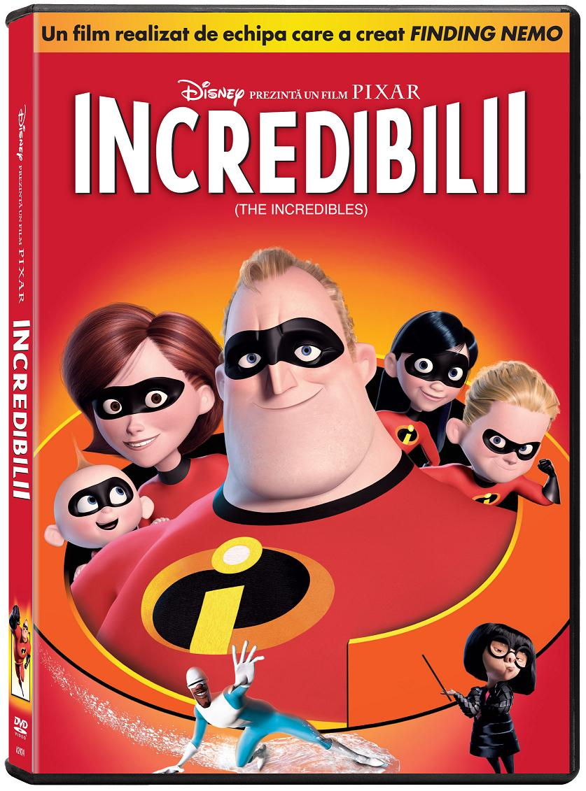 "Animatia Disney ""Incredibilii"", pe DVD"