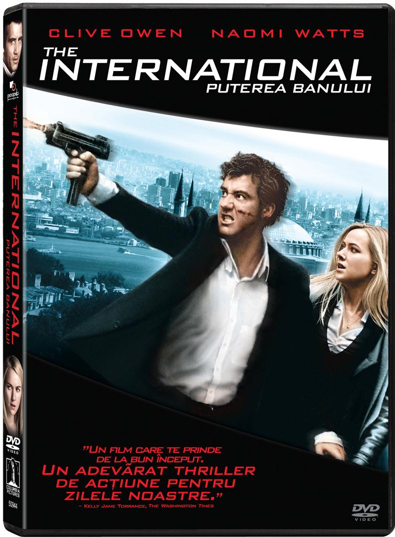 """The International"", un thriller al zilelor noastre, acum pe DVD si Blu-ray"