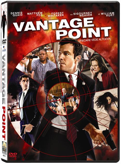 """Vantage Point"", pe DVD si Blu-ray"