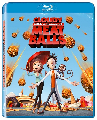 Blu-ray Cloudy with a chance of meatballs Sta sa ploua cu chiftele