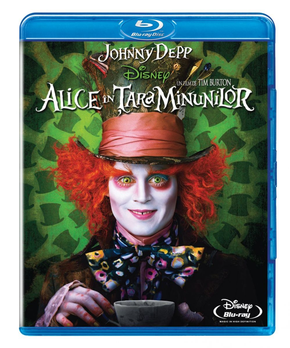 """Alice in Tara Minunilor"", pe Blu-ray si DVD"
