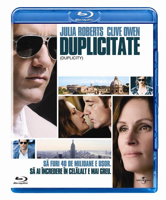 "Julia Roberts si Clive Owen, in ""Duplicitate"", pe DVD si Blu-ray"